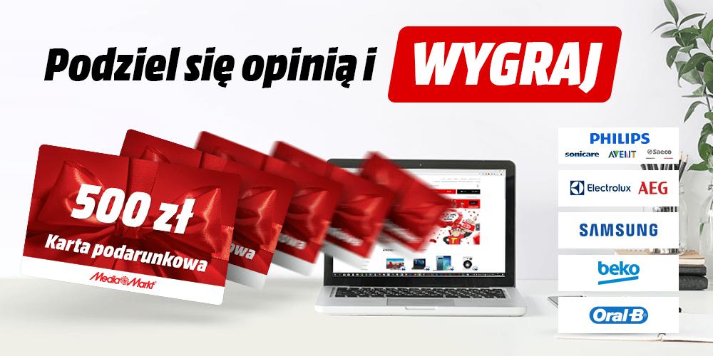 7baa24f8676d25 Konkurs opinii - sklep MediaMarkt.pl