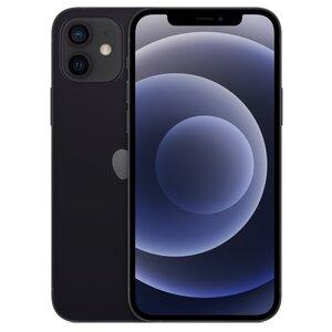 Smartfon APPLE iPhone 12 64GB Czarny MGJ53PM/A