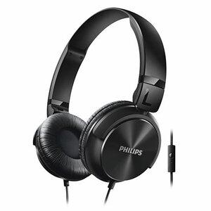 Słuchawki PHILIPS SHL3065 Czarny Słuchawki przewodowe