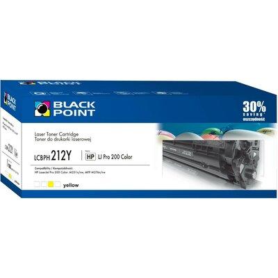 Toner BLACK POINT LCBPH212Y Zamiennik HP CF212A