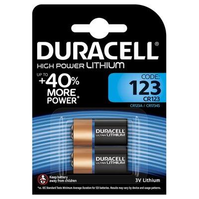 3a417b6faf56 Bateria DURACELL Ultra Photo CR123A K2