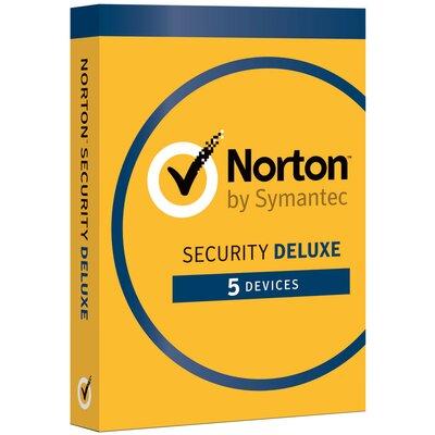 Norton Security Deluxe (5 urządzeń, 1 rok) Program NORTON