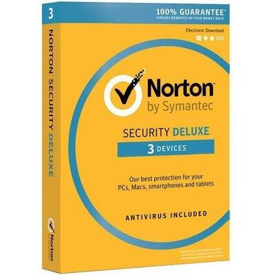 Norton Security Deluxe 3.0 PL (3 urządzenia, 1 rok) Program NORTON