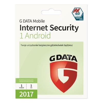 G DATA Mobile Internet Security (1 Android, 1 rok) Program G DATA