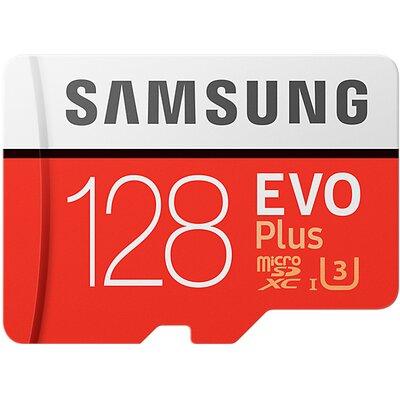 Karta pamięci SAMSUNG MB-MC128GA/EU 128GB MicroSD EVO Plus + adapter