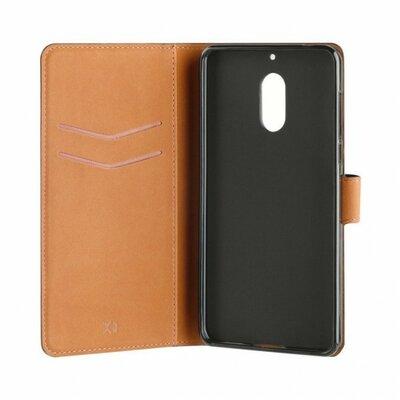 Slim Wallet Selection Nokia 6 Czarny Etui XQISIT