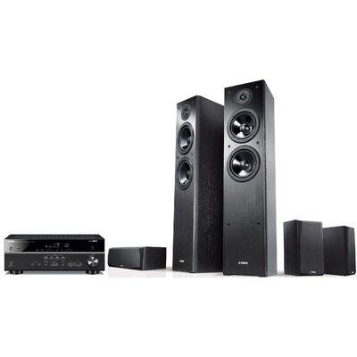 Kino domowe YAMAHA MusicCast RX-V485 + NS-F51/NS-P51 Czarny Media Markt 1379866
