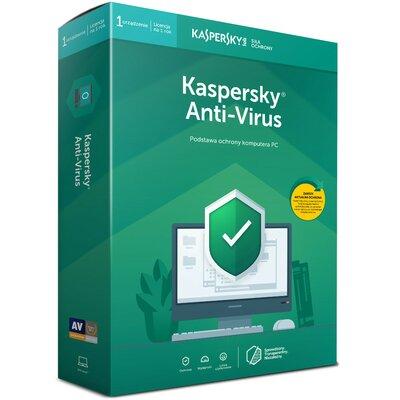 Kaspersky Anti-Virus 2019 (1 urządzenie, 1 rok) Program KASPERSKY LAB