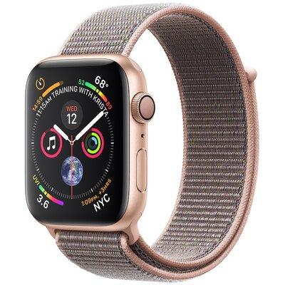 dfafc1613dfa2 SmartWatch APPLE Watch Series 4 Koperta 40 mm z aluminium w kolorze złotym  z opaską sportową