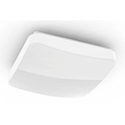 WiFi efekt brokatu kwadrat 27 cm Lampa sufitowa HAMA