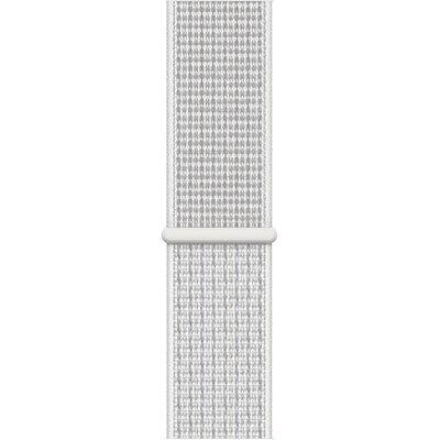 Opaska sportowa APPLE Nike do Watch Series 5 44 mm Śnieżnobiały MX822ZM/A