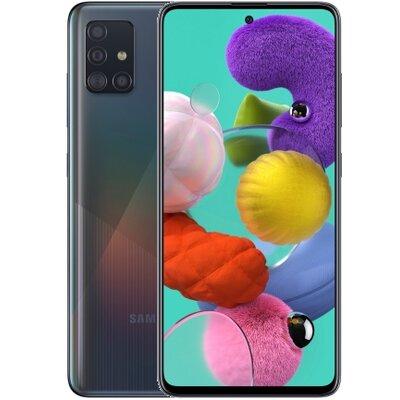Smartfon SAMSUNG Galaxy A51 Czarny SM-A515FZKVEUE