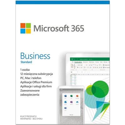 Microsoft 365 Business Standard PL 1 rok Program MICROSOFT