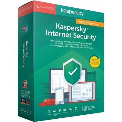 Kaspersky Internet Security Home & Student Edition (1 urządzenie, 1 rok) Program KASPERSKY LAB